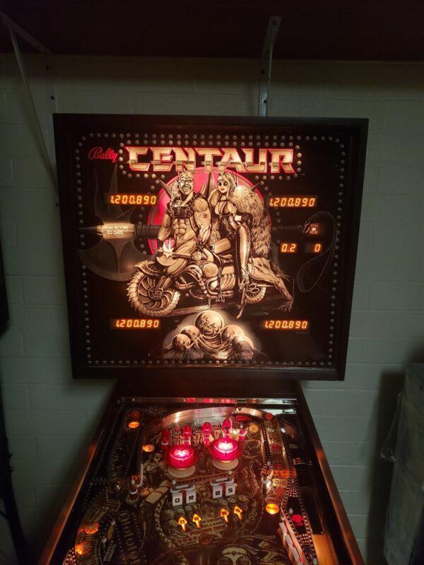Buy centaur machine online, Buy pinball machine online, buy used pinball machines, pinball machine for sale, where to buy pinball machines, centaur pinball machine for sale